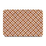 WOVEN2 WHITE MARBLE & RUSTED METAL Plate Mats 18 x12 Plate Mat - 1