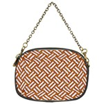 WOVEN2 WHITE MARBLE & RUSTED METAL Chain Purses (One Side)  Front