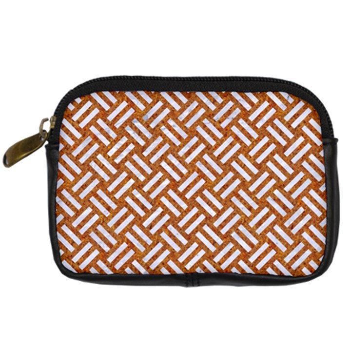 WOVEN2 WHITE MARBLE & RUSTED METAL Digital Camera Cases