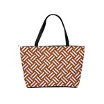 WOVEN2 WHITE MARBLE & RUSTED METAL Shoulder Handbags Back