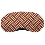 WOVEN2 WHITE MARBLE & RUSTED METAL Sleeping Masks Front