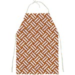 WOVEN2 WHITE MARBLE & RUSTED METAL Full Print Aprons Front
