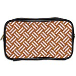 WOVEN2 WHITE MARBLE & RUSTED METAL Toiletries Bags 2-Side Back
