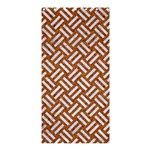 WOVEN2 WHITE MARBLE & RUSTED METAL Shower Curtain 36  x 72  (Stall)  33.26 x66.24 Curtain