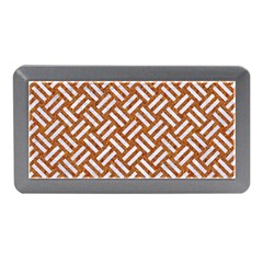 Woven2 White Marble & Rusted Metal Memory Card Reader (mini)