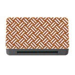 WOVEN2 WHITE MARBLE & RUSTED METAL Memory Card Reader with CF Front