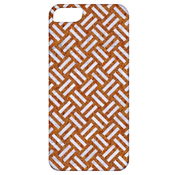 WOVEN2 WHITE MARBLE & RUSTED METAL Apple iPhone 5 Classic Hardshell Case