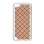 WOVEN2 WHITE MARBLE & RUSTED METAL Apple iPod Touch 5 Case (White) Front