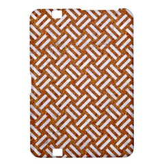 Woven2 White Marble & Rusted Metal Kindle Fire Hd 8 9