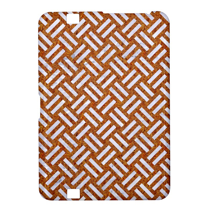WOVEN2 WHITE MARBLE & RUSTED METAL Kindle Fire HD 8.9
