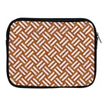 WOVEN2 WHITE MARBLE & RUSTED METAL Apple iPad 2/3/4 Zipper Cases Front