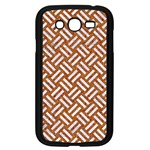 WOVEN2 WHITE MARBLE & RUSTED METAL Samsung Galaxy Grand DUOS I9082 Case (Black) Front