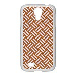 WOVEN2 WHITE MARBLE & RUSTED METAL Samsung GALAXY S4 I9500/ I9505 Case (White) Front