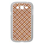 WOVEN2 WHITE MARBLE & RUSTED METAL Samsung Galaxy Grand DUOS I9082 Case (White) Front