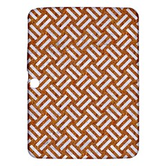 Woven2 White Marble & Rusted Metal Samsung Galaxy Tab 3 (10 1 ) P5200 Hardshell Case