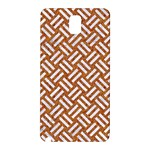 WOVEN2 WHITE MARBLE & RUSTED METAL Samsung Galaxy Note 3 N9005 Hardshell Back Case Front