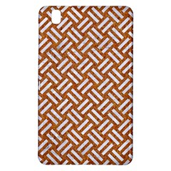 Woven2 White Marble & Rusted Metal Samsung Galaxy Tab Pro 8 4 Hardshell Case