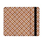WOVEN2 WHITE MARBLE & RUSTED METAL Samsung Galaxy Tab Pro 8.4  Flip Case Front