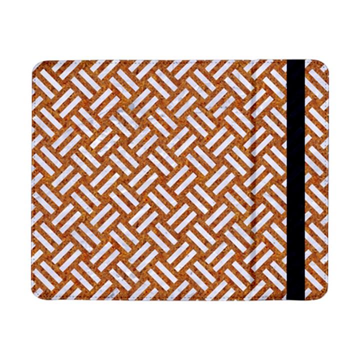 WOVEN2 WHITE MARBLE & RUSTED METAL Samsung Galaxy Tab Pro 8.4  Flip Case