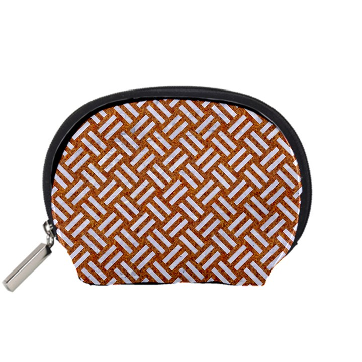 WOVEN2 WHITE MARBLE & RUSTED METAL Accessory Pouches (Small)