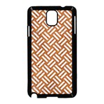 WOVEN2 WHITE MARBLE & RUSTED METAL Samsung Galaxy Note 3 Neo Hardshell Case (Black) Front
