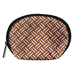 Woven2 White Marble & Rusted Metal Accessory Pouches (medium)