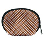 WOVEN2 WHITE MARBLE & RUSTED METAL Accessory Pouches (Medium)  Back