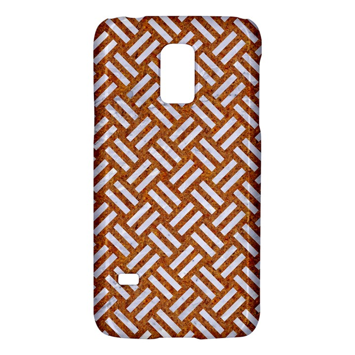 WOVEN2 WHITE MARBLE & RUSTED METAL Galaxy S5 Mini