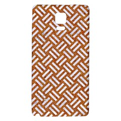 Woven2 White Marble & Rusted Metal Galaxy Note 4 Back Case