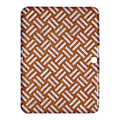 Woven2 White Marble & Rusted Metal Samsung Galaxy Tab 4 (10 1 ) Hardshell Case