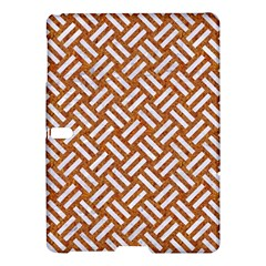 Woven2 White Marble & Rusted Metal Samsung Galaxy Tab S (10 5 ) Hardshell Case