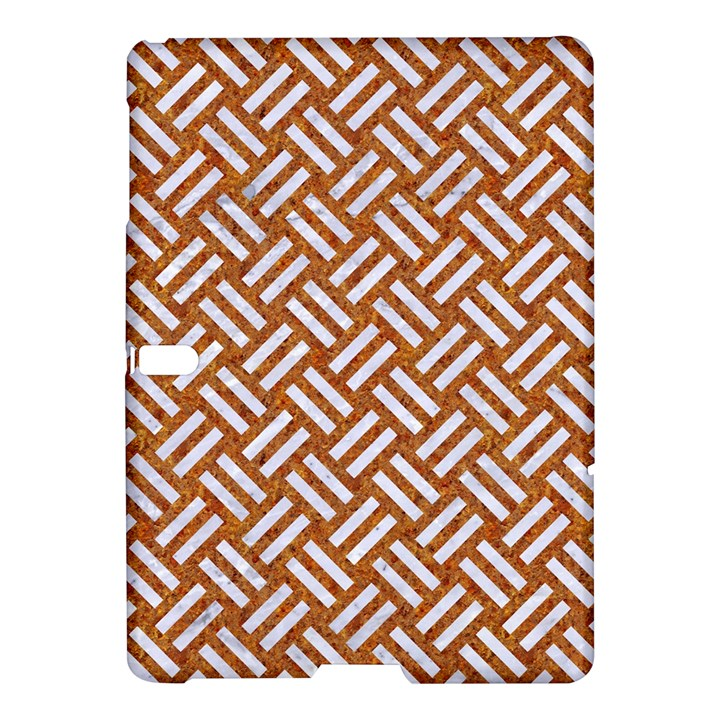 WOVEN2 WHITE MARBLE & RUSTED METAL Samsung Galaxy Tab S (10.5 ) Hardshell Case