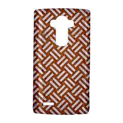 Woven2 White Marble & Rusted Metal Lg G4 Hardshell Case