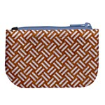 WOVEN2 WHITE MARBLE & RUSTED METAL Large Coin Purse Back