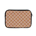 WOVEN2 WHITE MARBLE & RUSTED METAL Apple MacBook Pro 15  Zipper Case Front