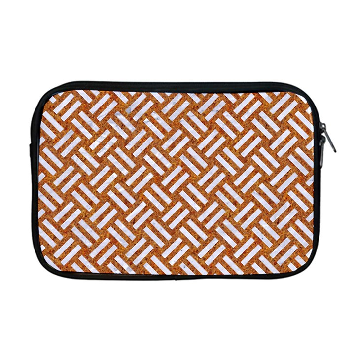 WOVEN2 WHITE MARBLE & RUSTED METAL Apple MacBook Pro 17  Zipper Case