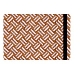 Woven2 White Marble & Rusted Metal Apple Ipad Pro 10 5   Flip Case