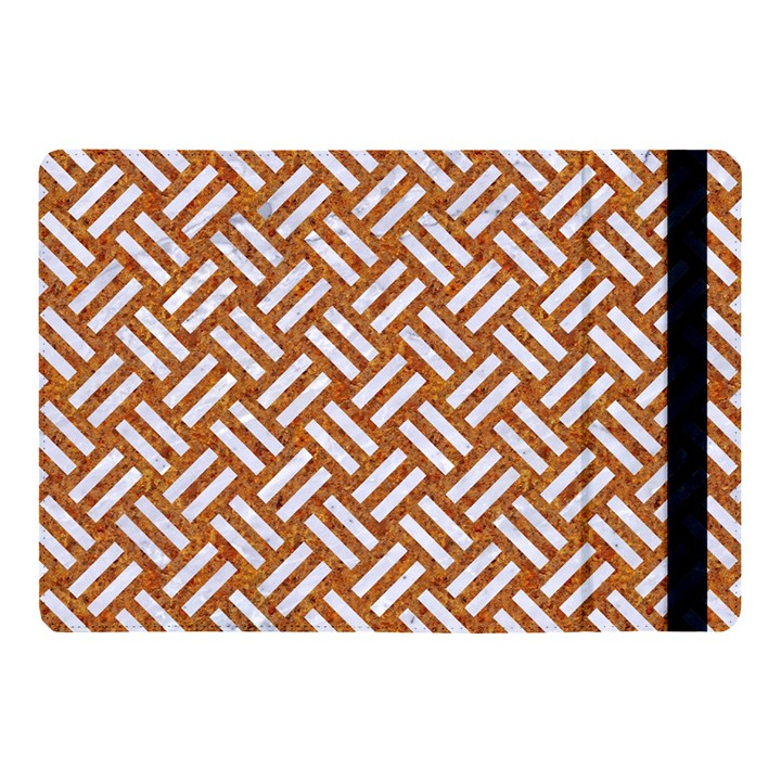 WOVEN2 WHITE MARBLE & RUSTED METAL Apple iPad Pro 10.5   Flip Case