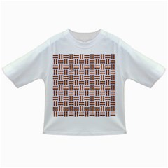 Woven1 White Marble & Rusted Metal (r) Infant/toddler T Shirts