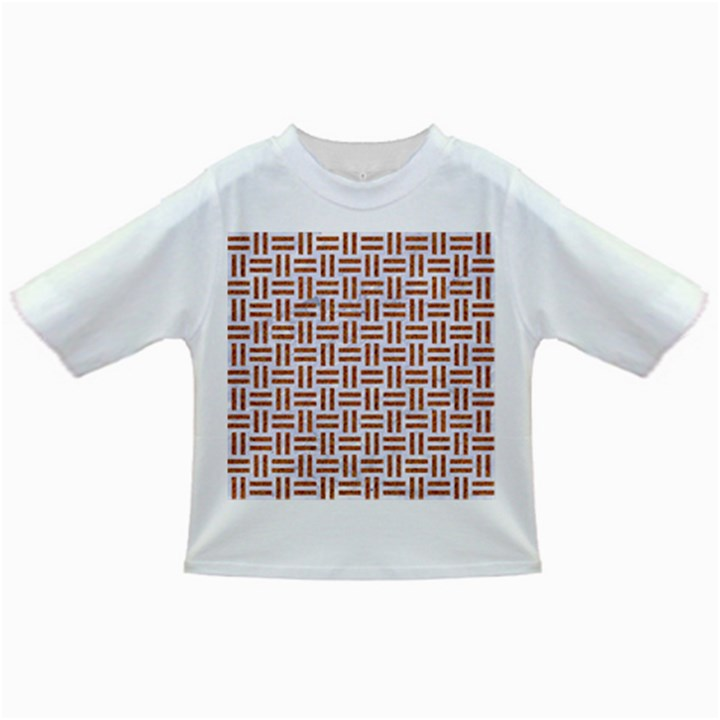 WOVEN1 WHITE MARBLE & RUSTED METAL (R) Infant/Toddler T-Shirts