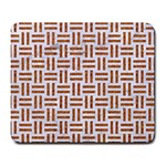 WOVEN1 WHITE MARBLE & RUSTED METAL (R) Large Mousepads Front