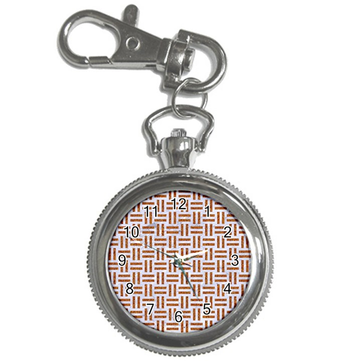 WOVEN1 WHITE MARBLE & RUSTED METAL (R) Key Chain Watches
