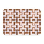 WOVEN1 WHITE MARBLE & RUSTED METAL (R) Plate Mats 18 x12 Plate Mat - 1