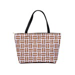 WOVEN1 WHITE MARBLE & RUSTED METAL (R) Shoulder Handbags Back