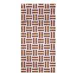 WOVEN1 WHITE MARBLE & RUSTED METAL (R) Shower Curtain 36  x 72  (Stall)  33.26 x66.24 Curtain