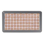 WOVEN1 WHITE MARBLE & RUSTED METAL (R) Memory Card Reader (Mini) Front