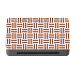 WOVEN1 WHITE MARBLE & RUSTED METAL (R) Memory Card Reader with CF Front