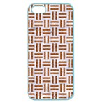 WOVEN1 WHITE MARBLE & RUSTED METAL (R) Apple Seamless iPhone 5 Case (Color) Front