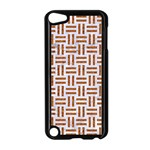 WOVEN1 WHITE MARBLE & RUSTED METAL (R) Apple iPod Touch 5 Case (Black) Front