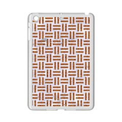 Woven1 White Marble & Rusted Metal (r) Ipad Mini 2 Enamel Coated Cases